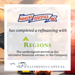 Andrews Logistics - Regions