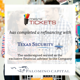 Metro Tickets - Texas Security
