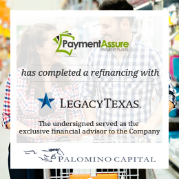 Payment Assure - Legacy Texas